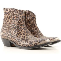 Golden Goose Boots for Women, Booties, Leopard, Leather, 2019, 3.5 4.5 5.5 6.5 7.5 8.5