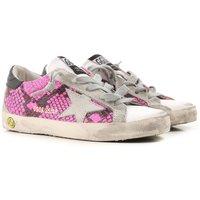 Golden Goose Zapatos para Niña Baratos en Rebajas, Fucsia, Piel, 2019, 28 29 30 31 32 34 35