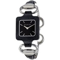 Gucci Watch for Women On Sale, Black, Leather, 2021