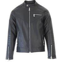 Guess Jacket for Men On Sale, Black, polyurethane, 2019, L XL
