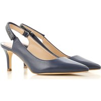 Guess Pumps & High Heels for Women On Sale, Blue Navy, Leather, 2019, 3.5 4.5 5.5 6.5 7.5