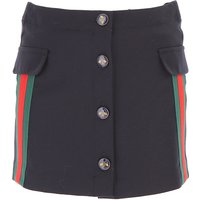 Gucci Kids Skirts for Girls On Sale, Midnight Blue, Wool, 2019, 10Y 6Y 8Y