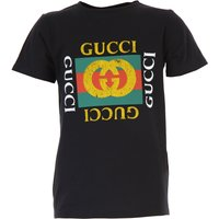 Gucci Kids T-Shirt for Boys On Sale, Black, Cotton, 2019, 6Y 8Y