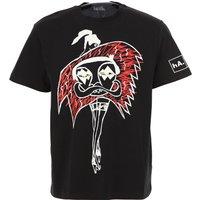 Haculla T-Shirt for Men On Sale, Black, Cotton, 2019, M XS