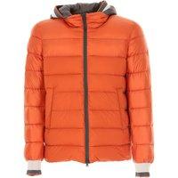 Herno Down Jacket for Men, Puffer Ski Jacket On Sale in Outlet, Orange, Down, 2019, M S