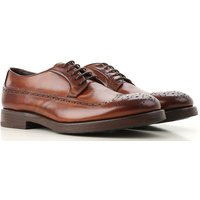 Henderson Lace Up Shoes for Men Oxfords, Derbies and Brogues On Sale, Brown, Leather, 2019, 10 10.5