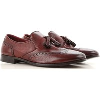 Henderson Loafers for Men, Bordeaux, Leather, 2019, 7 7.5 8 8.5 9 9.5