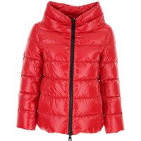 Herno Down Jacket for Women, Puffer Ski Jacket On Sale, Red, polyamide, 2019, 10 12 8