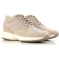 Hogan Sneakers for Women, Beige, suede, 2019, 4.5 5.5 6