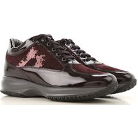 Hogan Sneakers for Women On Sale, mosto, Patent Leather, 2019, 6.5 7.5