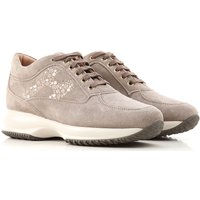 Hogan Sneakers for Women On Sale, Swamp, Suede leather, 2019, 2.5 3 6.5 7.5