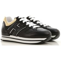 Hogan Sneakers for Women On Sale, Black, Leather, 2019, 2.5 3.5