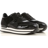 Hogan Sneakers for Women On Sale, Black, Suede leather, 2019, 3.5 6.5