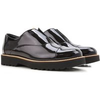 Hogan Slip on Sneakers for Women On Sale in Outlet, Black, Patent Leather, 2017, 3.5 5.5 6.5 7.5
