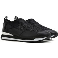 Hogan Slip on Sneakers for Women On Sale in Outlet, Black, Patent, 2017, 2.5 4 4.5 5.5 6