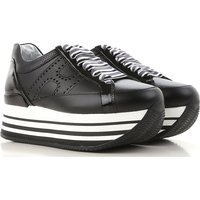 Hogan Sneakers for Women, Black, Patent Leather, 2017, 2.5 3 3.5 4 4.5 5.5 6 7.5