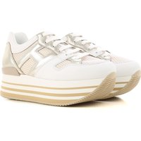 Hogan Sneakers for Women, White, Leather, 2017, 2.5 3 3.5 4 4.5 5.5 6 7.5