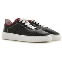 Hogan Sneakers for Women On Sale in Outlet, Black, Leather, 2019, 4.5 7.5