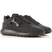 Hogan Sneakers for Women On Sale, Black, Leather, 2019, 2.5 3 3.5 4