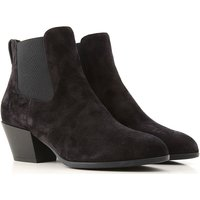 Hogan Boots for Women, Booties On Sale, Black, Suede leather, 2019, 2.5 3 3.5 4 4.5 5.5 6 6.5 7.5
