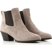 Hogan Boots for Women, Booties On Sale, Swamp, Suede leather, 2019, 2.5 3 3.5 4 4.5 5.5 6 6.5 7.5