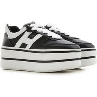 Hogan Sneakers for Women On Sale, Black, Leather, 2019, 3.5 5.5 6 6.5 7 7.5