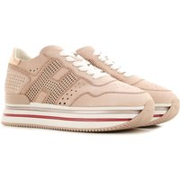 Hogan Sneakers for Women On Sale, Peach, Leather, 2019, 3 3.5 4 4.5 5.5 6 6.5 7.5