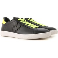 Hogan Sneakers for Men On Sale in Outlet, Black, Leather, 2019, 5 6 6.5