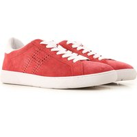 Hogan Sneakers for Men On Sale, Ribes Red, suede, 2019, 6 7 7.5 8.5 9