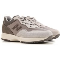 Hogan Sneakers for Men On Sale, Grey, Suede leather, 2017, 5 8.5