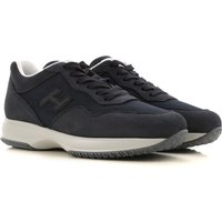 Hogan Sneakers for Men On Sale, Navy Blue, Fabric, 2019, 5 6.5 9.5
