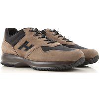 Hogan Sneakers for Men, Mud, Suede leather, 2019, 10 5 5.5 6 6.5 7 7.5 8 8.5 9 9.5
