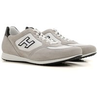 Hogan Sneakers for Men On Sale in Outlet, White, Nylon, 2017, 10 6