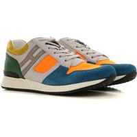Hogan Sneakers for Men On Sale, Multicolor, Suede leather, 2019, 10 6 7.5