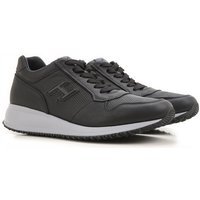 Hogan Sneakers for Men On Sale, Black, Leather, 2017, 6.5 7 8 8.5