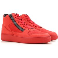 Hogan Sneakers for Men On Sale in Outlet, Red, Leather, 2017, 10 7 7.5
