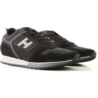 Hogan Sneakers for Men On Sale, Black, Leather, 2019, 10 9
