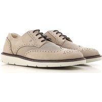 Hogan Lace Up Shoes for Men Oxfords, Derbies and Brogues On Sale, Rope, Leather, 2019, 10 6 6.5 7 7.
