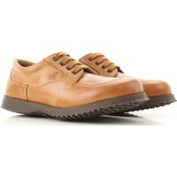 Hogan Lace Up Shoes for Men Oxfords, Derbies and Brogues On Sale in Outlet, Camel, Leather, 2019, 10