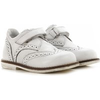 Hogan Kids Shoes for Girls On Sale in Outlet, White, Leather, 2019, 21 23 25 26 27