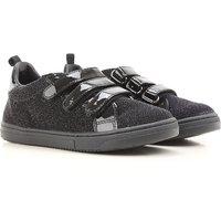 Hogan Zapatos para Niña Baratos en Rebajas Outlet, Negro, Negro, 2019, 28 31