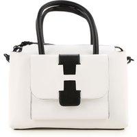 Hogan Top Handle Handbag On Sale, White, Leather, 2019