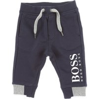 Hugo Boss Baby Sweatpants for Boys, Blue Navy, Cotton, 2019, 12M 18M 2Y 3Y 6M 9M