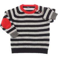 Il Gufo Baby Sweaters for Boys, Grey, Wool, 2019, 12M 18M 2Y 4Y 6M 9M