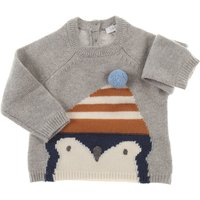 Il Gufo Baby Sweaters for Boys, Grey, Wool, 2019, 12M 12M 18M 18M 6M 6M 9M 9M