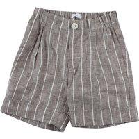 Il Gufo Pantalones Cortos para Bebé Niño Baratos en Rebajas Outlet, Marrón, Lino, 2019, 18 M 4Y 6M