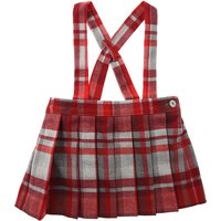 Il Gufo Baby Skirts for Girls On Sale, Poppy Red, polyester, 2019, 12M 18M 9M