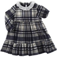 Il Gufo Baby Dress for Girls On Sale, Grey, polyester, 2019, 12M 6M
