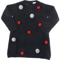 Il Gufo Baby Sweaters for Girls On Sale in Outlet, Blue Navy, Wool, 2019, 12M 18M 9M
