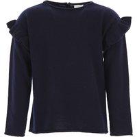 Il Gufo Kids Sweaters for Girls, Blue Navy, Virgin wool, 2019, 10Y 2Y 3Y 4Y 6Y 8Y